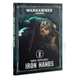 Codex Supplement Iron Hands Cover