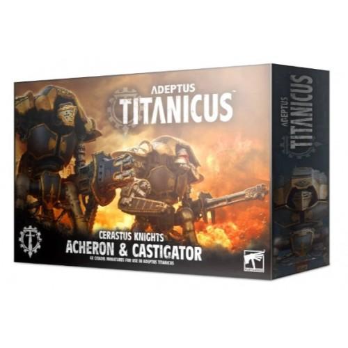 Adeptus Titanicus Cerastus Knight Acheron & Castigator Box Cover