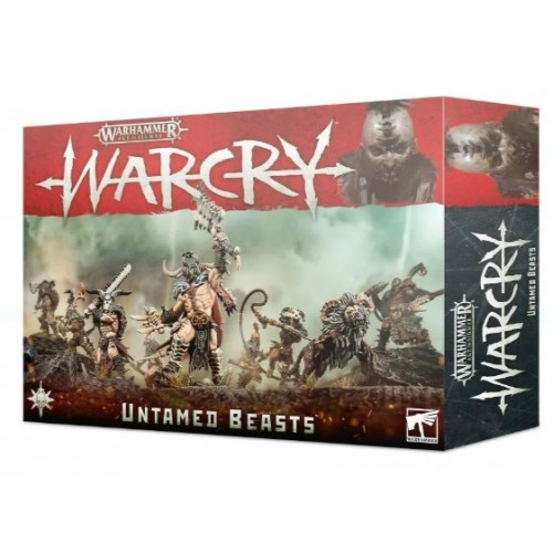 Warcry: Untamed Beasts Warband Box Cover