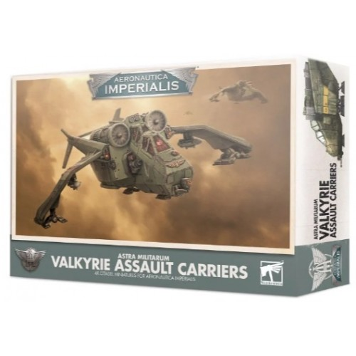 Aeronautica Imperialis Valkyrie Assault Carriers Box Cover
