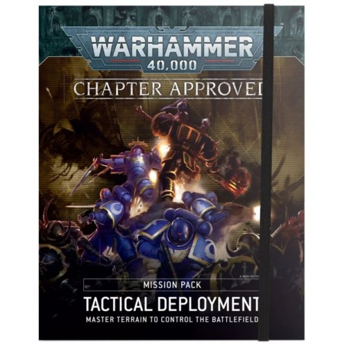Warhammer 40,000: Tactical Deployment Mission Pack cover from GW