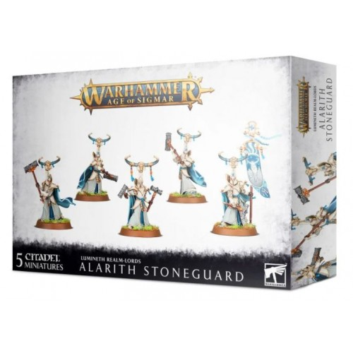 Lumineth Realm-Lords: Alarith Stoneguard Box from GW