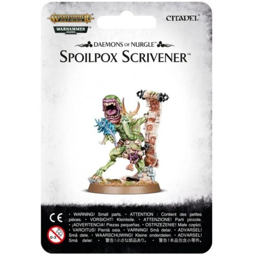 Daemons of Nurgle: Spoilpox Scrivener Box Cover by GW