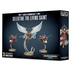 Adepta Sororitas: Celestine the Living Saint Box Cover from GW