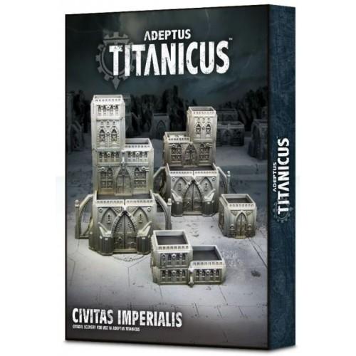 Adeptus Titanicus: Civitas Imperialis Box Cover from GW