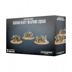 Astra Militarum: Cadian Heavy Weapon Squad from GW