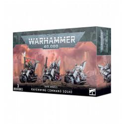 Dark Angels: Ravenwing Command Squad / Black Knights from GW