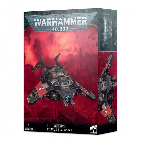 Deathwatch: Corvus Blackstar from GW
