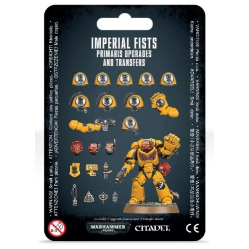 Imperial Fists Primaris Upgrades & Transfers Blister Cover