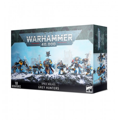 Space Wolves: Grey Hunters / Blood Claws / Wolf Guard Pack from GW
