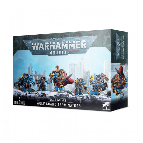 Space Wolves: Wolf Guard Terminators from GW