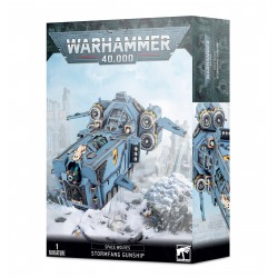 Space Wolves: Stormfang Gunship / Stormwolf Assault Craft from GW