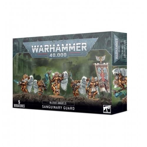 Blood Angels: Sanguinary Guard from GW