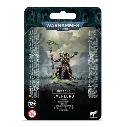Necrons: Necron Overlord from GW