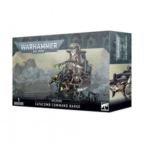 Necrons: Catacomb Command Barge / Annihilation Barge from GW