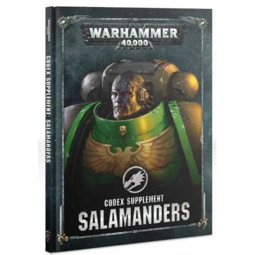 Salamanders Codex Supplement  Cover