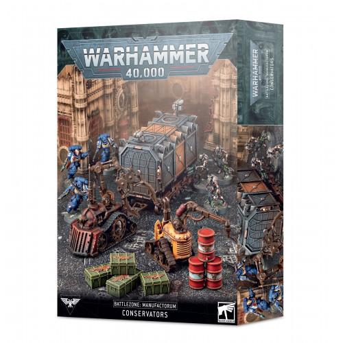 Battlezone: Manufactorum - Conservators from GW