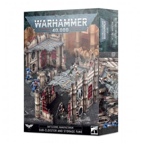 Battlezone: Manufactorum - Sub-Cloister & Storage Fane from GW