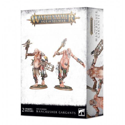 Sons of Behemat: Mancrusher Gargants from GW