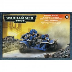 Space Marines: Attack Bike from GW