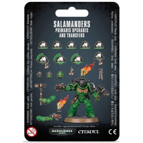 Salamanders Primaris Upgrades & Transfers Blister Cover