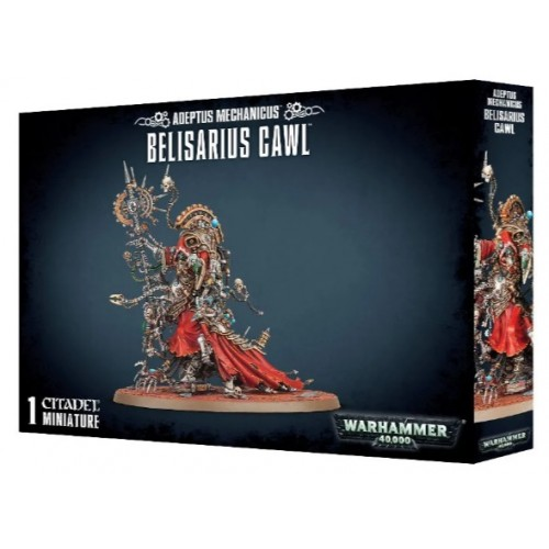 Adeptus Mechanicus Belisarus Cawl Box cover