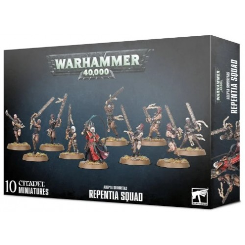 Adepta Sororitas Repentia Squad Box Cover
