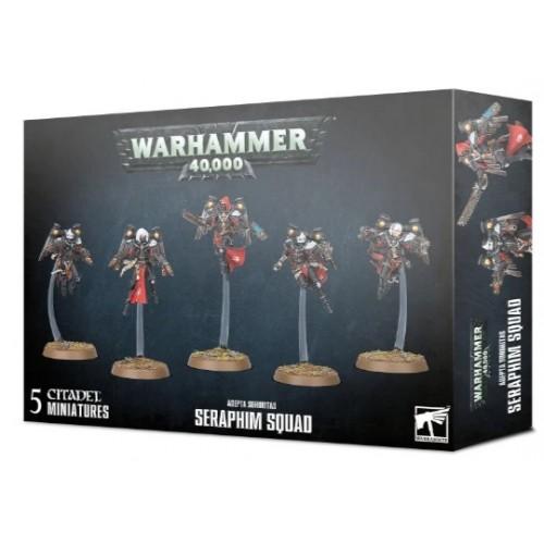 Adepta Sororitas Seraphim Squad Box Cover