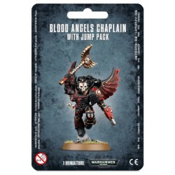 Blood Angels Chaplain with Jump Pack Blister Cover