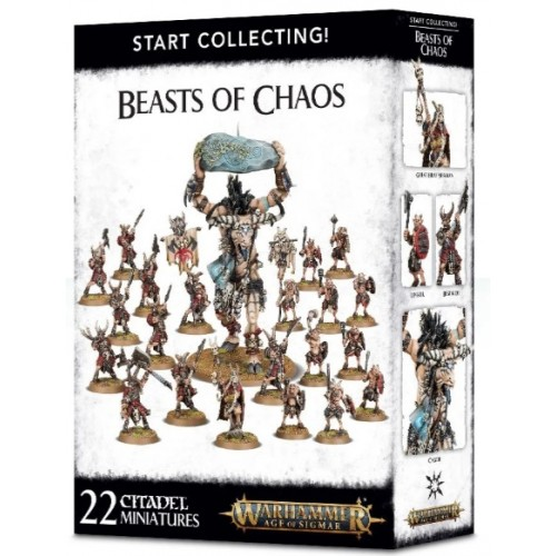Start Collecting! Beasts of Chaos Box Cover