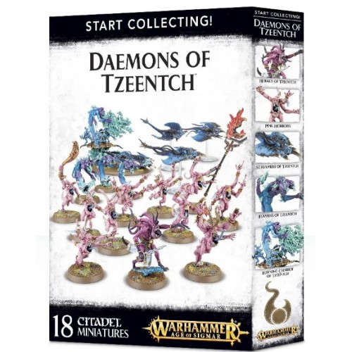 Start Collecting! Daemons of Tzeentch Box Cover