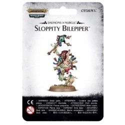 Sloppity Bilepiper Herald of Nurgle Blister Cover