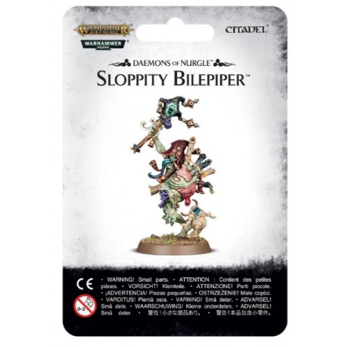 Sloppity Bilepiper Herald of Nurgle Blister Cover