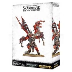 Daemons of Khorne Skarbrand the Bloodthirster Box Cover