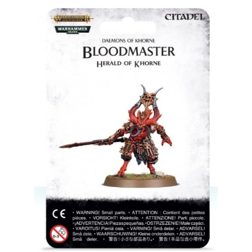 Bloodmaster Herald of Khorne Blister cover