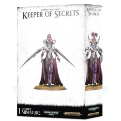 Daemons of Slaanesh Keeper of Secrets Box Cover