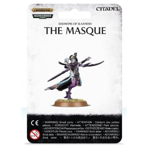 Daemons of Slaanesh The Masque Blister Cover