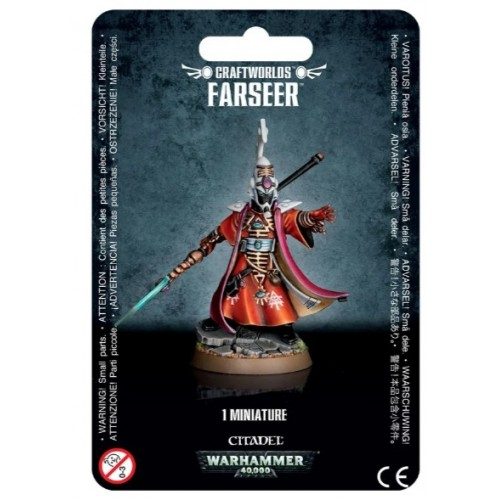 Craftworlds Farseer Blister Cover