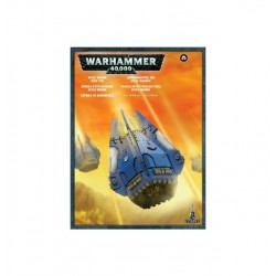 Space Marine Drop Pod Box Cover