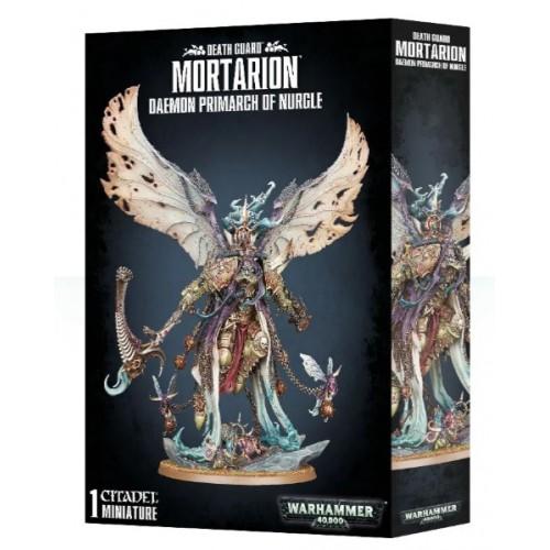 Mortarion, Daemon Primarch of Nurgle Box Cover