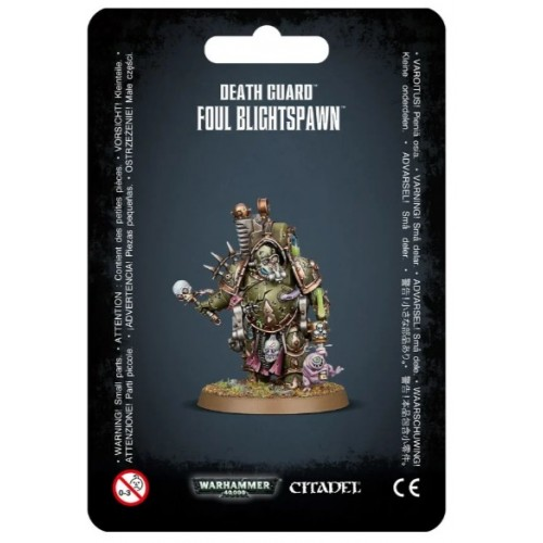 Death Guard: Foul Blightspawn Blister Cover