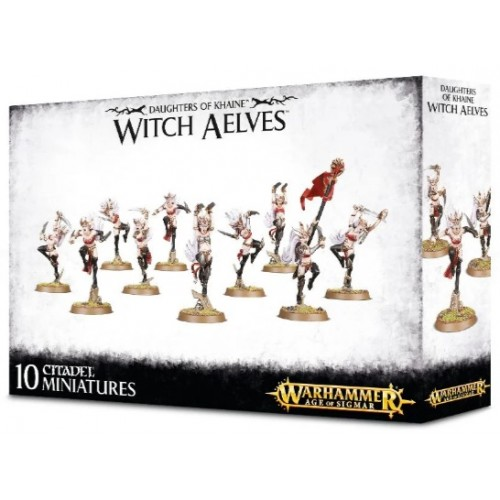 Daughters of Khaine Witch Aelves / Sisters of Slaughter Box Cover