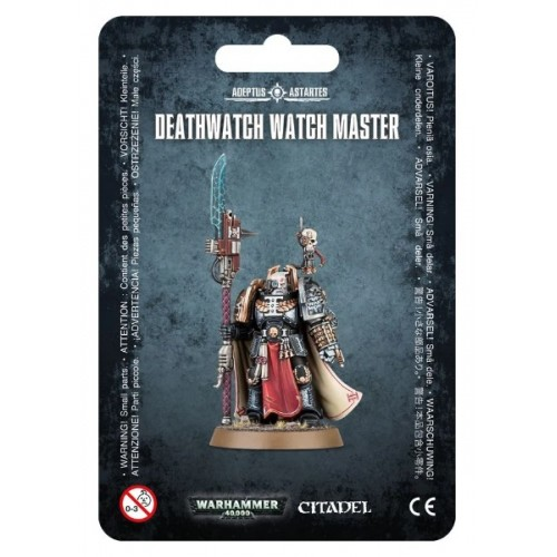 Deathwatch Watch Master Blister Cover
